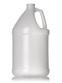 Nothing Found: 1 gallon natural-colored HDPE industrial round bottle with 38-400 neck finish