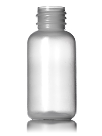 Nothing Found: 1 oz natural-colored LDPE boston round bottle with 20-410 neck finish
