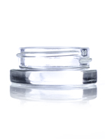 Nothing Found: 7 mL clear glass low-profile jar with 38-400 neck finish