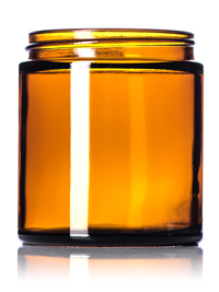 Nothing Found: 4 oz amber glass straight-sided round jar with 58-400 neck finish